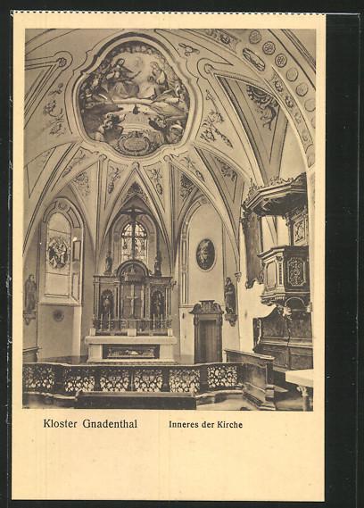 AK Ingolstadt, Kloster Gnadenthal, Inneres der Kirche 0