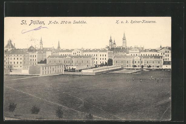AK St. Pölten, K.u.k. Rainer-Kaserne 0