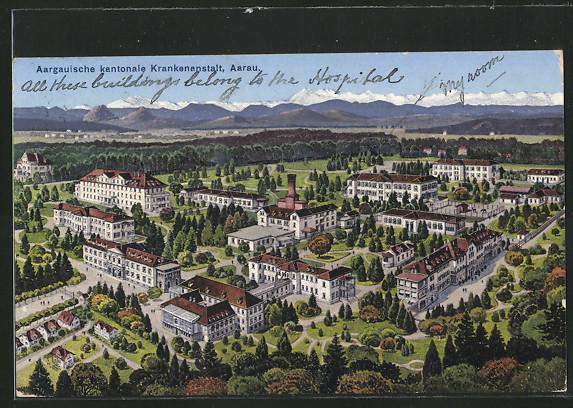 AK Aarau, Aargauische kantonale Krankenanstalt 0