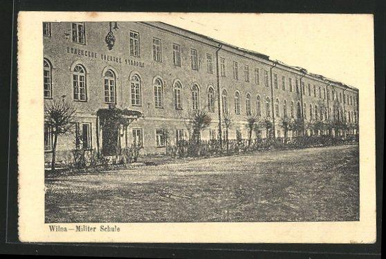 AK Wilna, Militer Schule  0