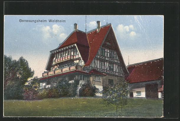 AK Öhningen, Genesungsheim Waldheim 0