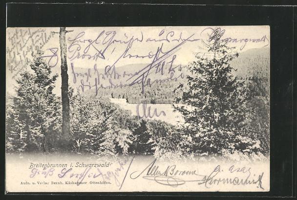 AK Breitenbrunnen, Landschaftsaufnahme 0