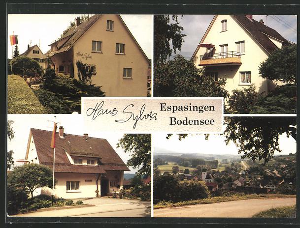 AK Stockach-Espasingen, Haus Silvia  in der Seenstrasse 24 0