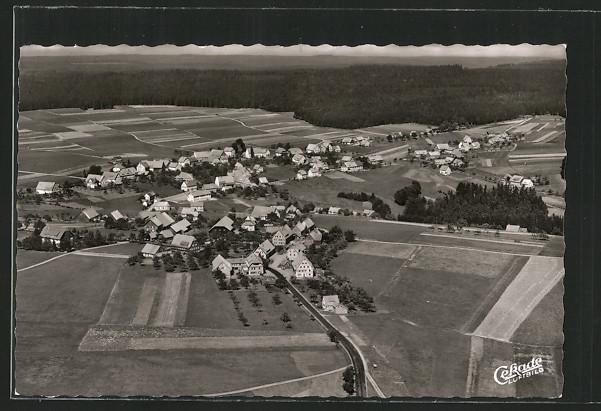 AK Besenfeld, Fliegeraufnahme der Ortschaft 0