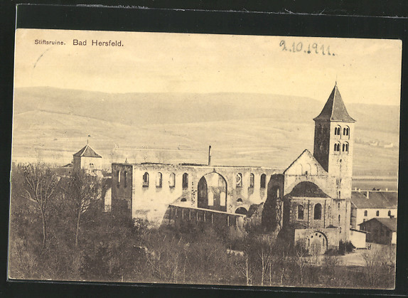 AK Bad Hersfeld, Stiftsruine 0