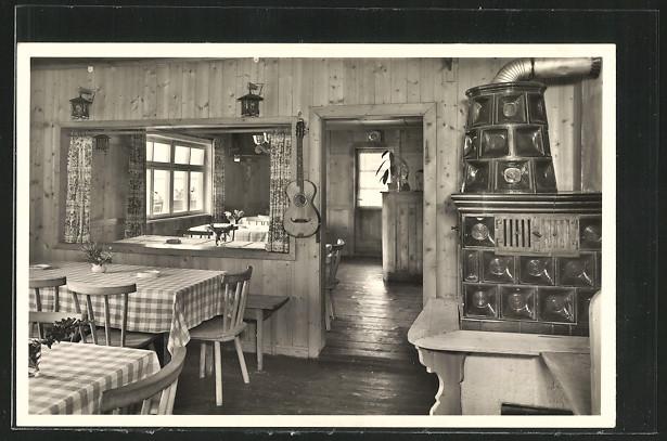AK Balderschwang, Berggasthof Hubertus, Bes. K. Traubel, Speisezimmer 0
