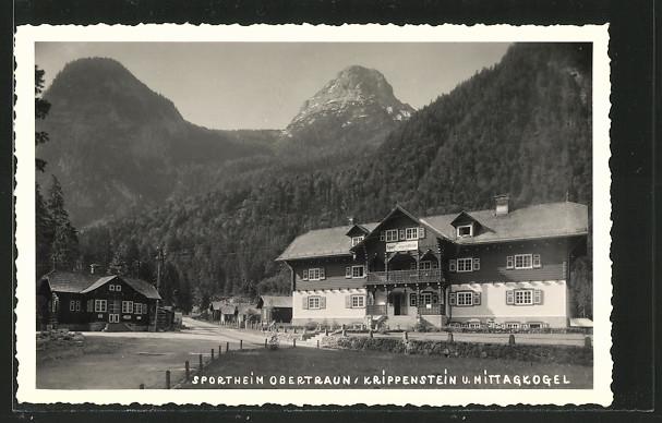 AK Obertraun, Sportheim mit Umgebung 0