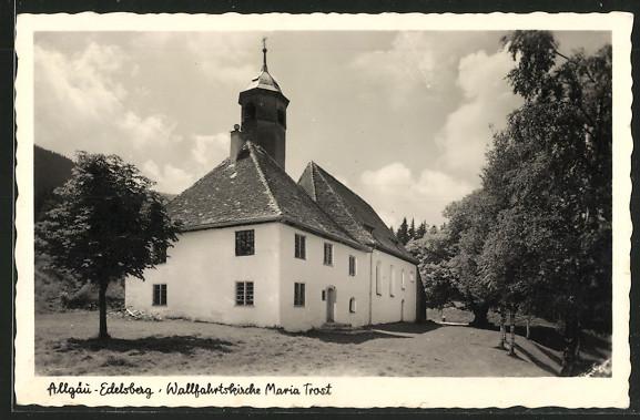AK Edelsberg, Wallfahrtskirche Maria Trost auf den Edelsberg 0