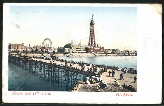 AK Blackpool, Tower and Alhambra 0
