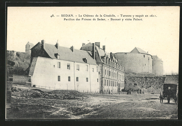 AK Sedan, Le Chateau de la Citadelle 0
