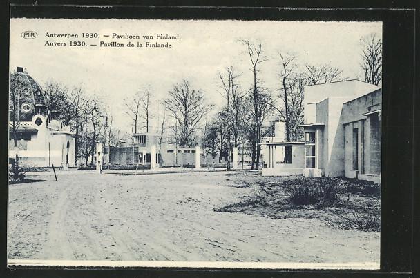 AK Anvers, Exposition Internationale 1930, Pavillon de la Finlande 0
