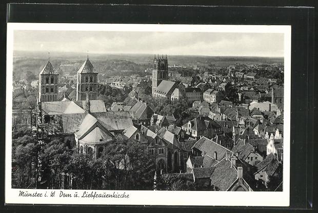 AK Münster, Dom und Liebfrauenkirche 0