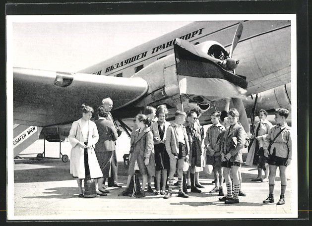 AK Kinder der VVN bei ihrem Abflug nach Bulgarien 0