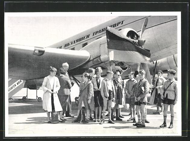 AK Kinder der VVN beim Abflug nach Bulgarien