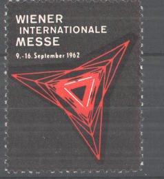 Reklamemarke Internationale Wiener Messe, 1962, Messelogo 0