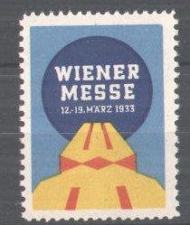 Reklamemarke Wiener Messe, 1933, Messelogo 0