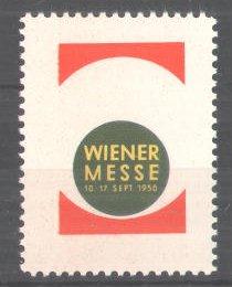 Reklamemarke Wiener Messe, 1950 0