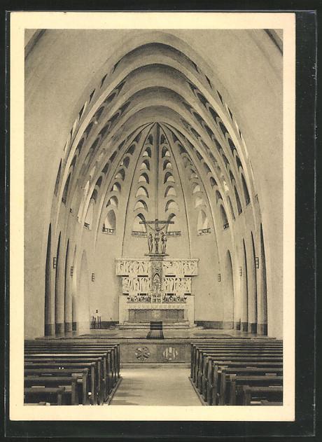 AK Limburg, Missionshaus der Pallottiner, Chor der Marienkirche 0