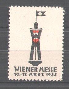 Reklamemarke Wiener Messe 1935, Messelogo 0