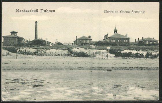 AK Cuxhaven-Duhnen, Christian Görne Stiftung 0