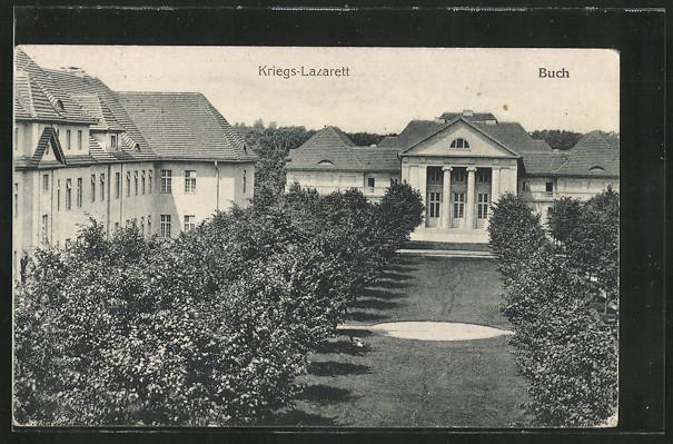 AK Berlin-Buch, Kriegs-Lazarett 0