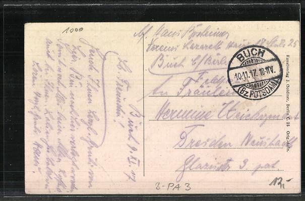 AK Berlin-Buch, Kriegs-Lazarett 1