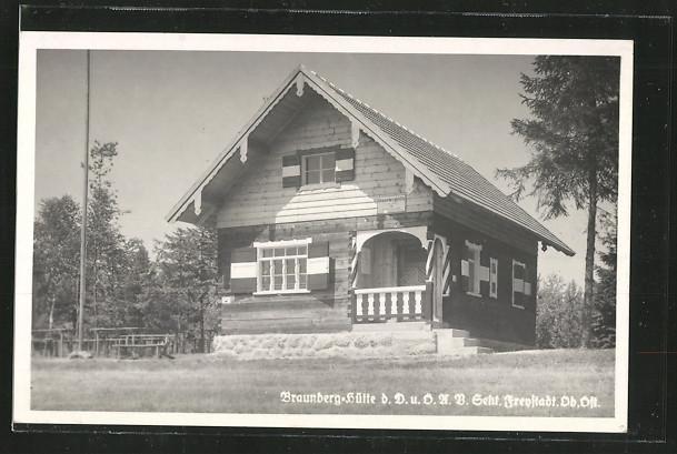 AK Freistadt, Braunberg-Hütte 0