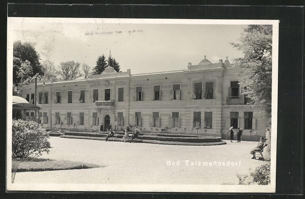 AK Bad Tatzmannsdorf, Hotel Batthány