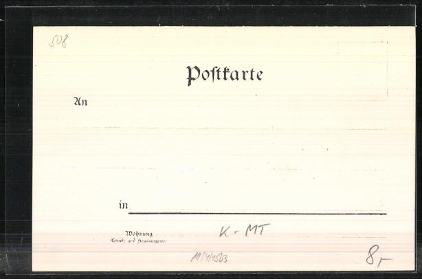 Lithographie Köln, Dom, Wappen 1