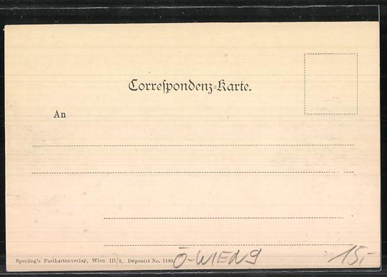 AK Wien, Spittelauergasse, Katholisches Gesellen-Verein 1