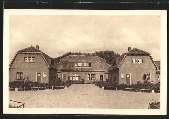 AK Oostzaan, Sicht auf Wohnhäuser