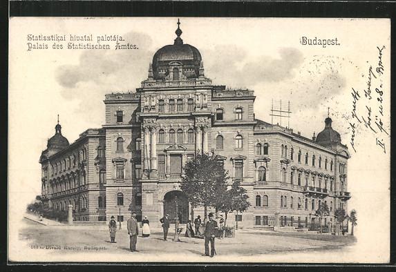 AK Budapest, Statisztikai hivatal palotaja