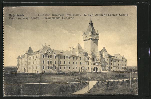 AK Hajmasker, Artillerie Schiessschule, Kommando Gebäude 0