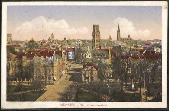 AK Münster, Ortsansicht 0