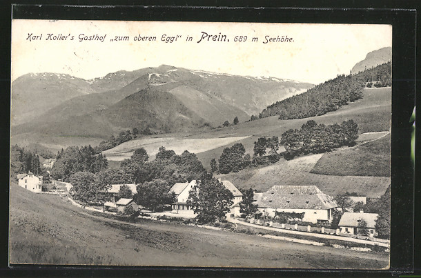 AK Prein, Karl Koller`s Gasthof \