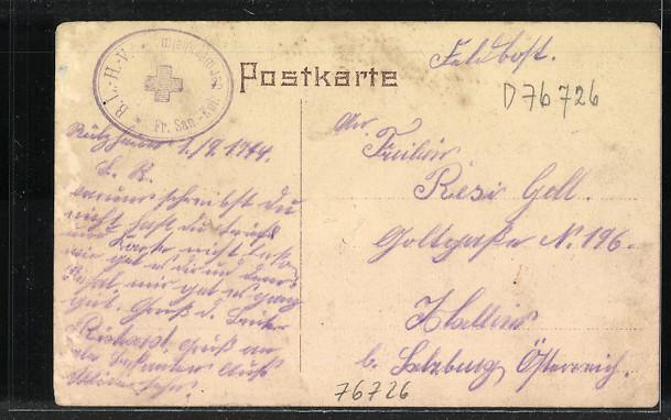 AK Germersheim, Kgl. Kommandantur und Kriegerdenkmal 1