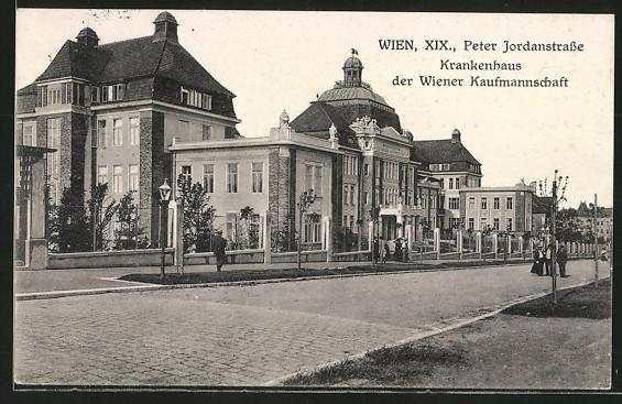 AK Wien, Krankenhaus der Wiener Kaufmannschaft in der Peter Jordanstrasse 0