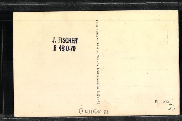 AK Wien-Franz-Josefs-Land, Fischerstrand, Josef Fischers Gastwirtschaft 1