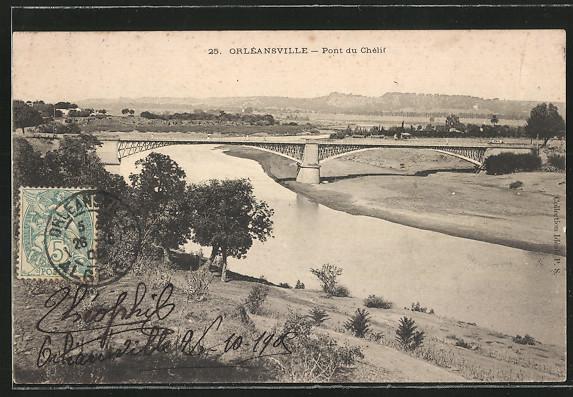 AK Orleansville, Pont du Chelif 0