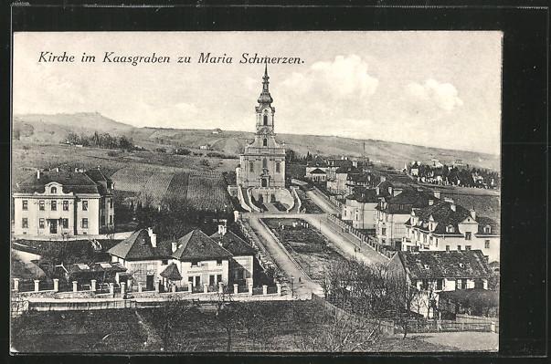 AK Wien, Maria Schmerzen, Kirche im Kaasgraben 0