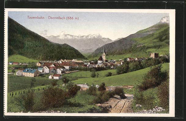AK Obervellach, Gesamtansicht 0