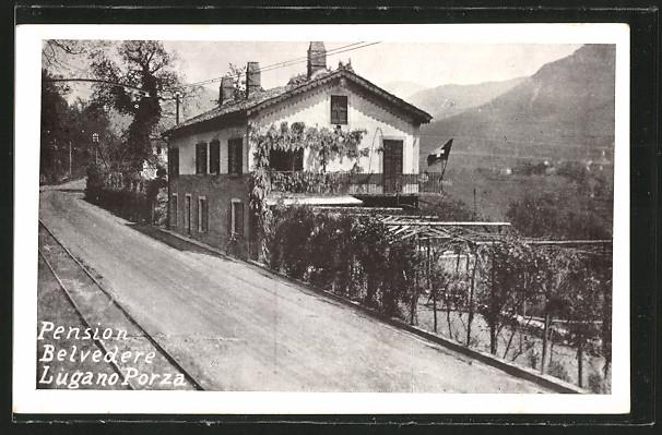 AK Lugano Porza, Pension Belvedere