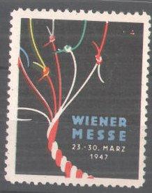 Reklamemarke Wiener Messe 1947, Messelogo