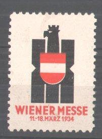 Reklamemarke Wiener Messe 1934, Messelogo