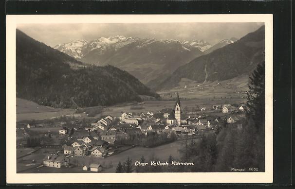 AK Obervellach, Gesamtansicht