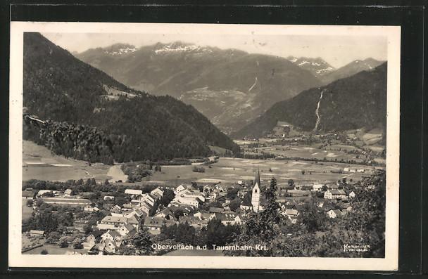 AK Obervellach a.d. Tauernbahn, Gesamtansicht