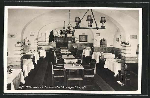 AK Groningen, Café-Restaurant