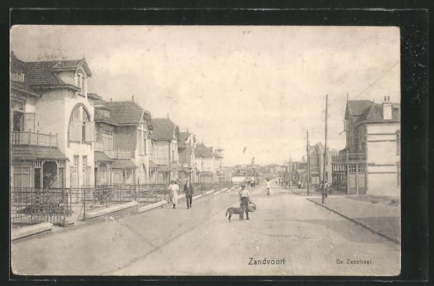 AK Zandvoort, De Zeestraat
