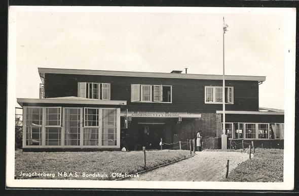 AK Oldebroek, Jeugdherberg N. B. A. S. Bondshuis