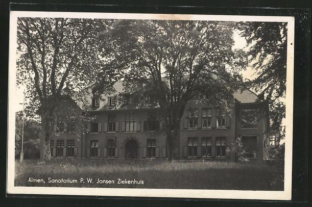 AK Almen, Sanatorium P. W. Jansen Ziekenhuis